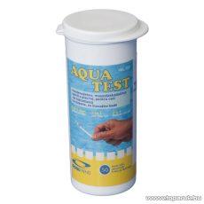 Pooltrend AquaChek Vízelemző tesztcsík készlet medencevíz Ph és klór méréséhez, 50 db / csomag (VEL 103)