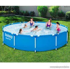 Bestway BAHAMA Fémvázas kerti medence vízforgatóval, 366 x 76 cm