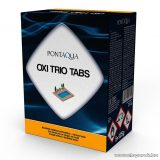 PoolTrend / PontAqua OXI TRIO TABS hármas hatású medence fertőtlenítő klórtabletta, 5 db tasak / doboz
