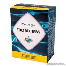 PoolTrend / PontAqua TRIO MIX TABS hármas hatású medence fertőtlenítő klórtabletta, 5 db tasak / doboz