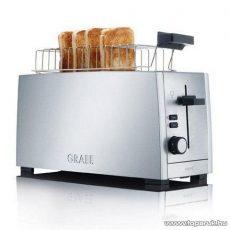 Graef TO100 4 szeletes inox hosszúkás kenyérpirító
