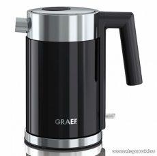 Graef WK402 1 literes inox vízforraló, fekete