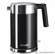Graef WK62EU 1,5 literes inox vízforraló, fekete - Megszűnt termék: 2015. Szeptember