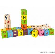 Heros ABC fa építőkocka (100088301)