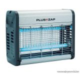 Plus ZAP ZE121 16W-os UV fénycsöves, ALU házas elektromos rovarcsapda (rovarölő), 2 x 8 W (hatókörzet kb. 40 m2)