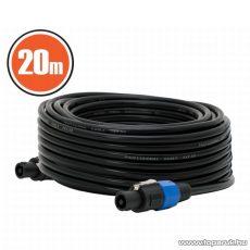 JBSYSTEMS Professzionális hangfal kábel, Speakon - Speakon, 2 x 2,5 mm2, 20 m (61254)