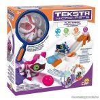 TEKSTA Micro robot cica játék szett, interaktív játék Kitty macska