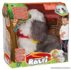 Epee Ralfi kutya, interaktív plüss bobtail kutyus - készlethiány