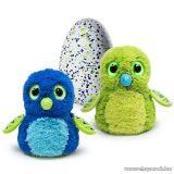 Hatchimals Draguella zöld tojásban, interaktív plüss