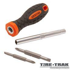 Handy TIRE TRAK gumírozott nyelű 4 az 1-ben csavarhúzó készlet (10726)