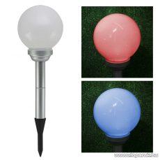 LED-es színváltó szolár gömblámpa 2 LED-es (11420) - Készlethiány