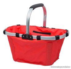 Összehajtható bevásárlókosár, piros (11540RD)