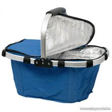 Összehajtható hőtartó bevásárlókosár, kék (11541BL)