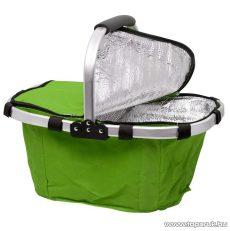 Összehajtható hőtartó bevásárlókosár, zöld (11541GR)