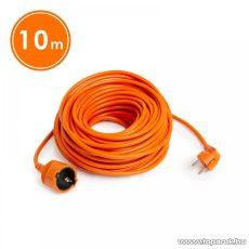 Hálózati lengő hosszabbító, fűnyíró kábel, narancssárga, 10 m (20504OR)