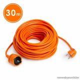 Hálózati lengő hosszabbító, fűnyíró kábel, narancssárga, 30 m (20507OR)