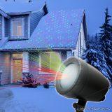 Kültéri LED projektor, lézeres party fény kivetítő (54917)