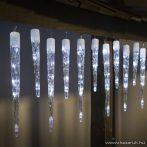 TA-Brand 55234 Kültéri Jégcsap fényfüzér dekoráció, hideg fehér fénnyel