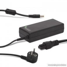 Delight univerzális laptop / notebook töltő adapter tápkábellel, 19V / 4,72A, 5,5 mm / 1,7 mm, 90W (55366)