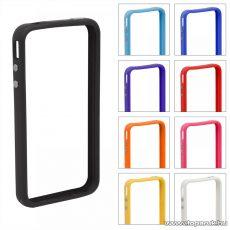 iPhone 4 / iPhone 4S védőkeret, bumper, színes (55403A) - megszűnt termék: 2016. július