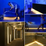 Phenom 55842 LED szalag mozgásérzékelő szenzorral, 2 x 60 db meleg fehér LED-del, 2 x 200 cm