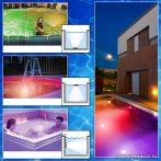 Phenom RGB LED-es medence világítás (Jacuzzi és Wellness hangulatfény, lámpa), 2 db + távirányító