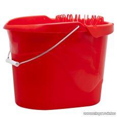 Felmosóvödör kicsavaróval, 13 L, piros (56035) - megszűnt termék: 2014. április