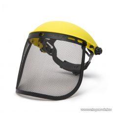 Handy Arcvédő rostély homlokpánttal, sárga (10374)