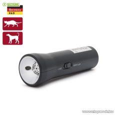ISOTRONIC Space Dog II Elemes kutya és macska riasztó, elemlámpa funkcióval (max. hatókörzet: 6 m) (55654)