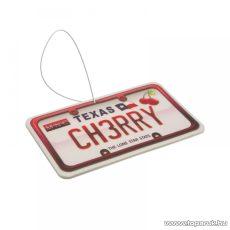 Autó illatosító (USA államok rendszámtábláját mintázó autóillatosító), Cherry