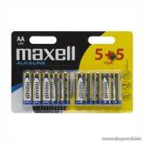 Maxell 18733 Ceruza elem, 1,5V, (AA, LR6 méret), 5 + 5 db / csomag