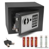 delight 55580 Smart elektronikus mini széf, digitális, számkódos bútorszéf