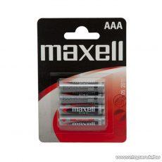 maxell Féltartoós mikroceruza elem, AAA, R03 Zn, 1,5V, 4 db / csomag (18711B)