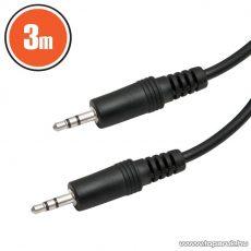 delight JACK kábel 3.5 JACK dugó - 3.5 JACK dugó, 3 m (20316)