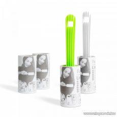 Delight tisztító henger, 3db henger, perforált lapokkal, 10 x 13 cm/lap (57005)
