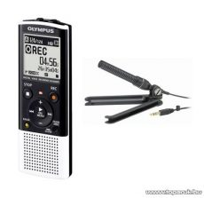 Olympus VN-8500PC diktafon, 1 GB memóriával és PC csatlakozóval + ME-32 Zoom mikrofonnal - készlethiány