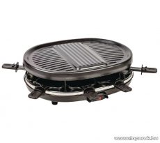 Azura AZ-FC20 8 személyes raclette grill, raklett grillsütő