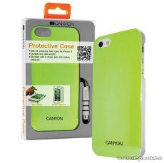 CANYON iPhone SE / 5 / 5s okostelefon tok, kijelzővédő fóliával és stylus tollal, zöld