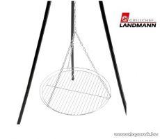 Landmann 0161 Grillrostély lánccal, krómozott