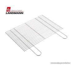 Landmann 0188 Grillrostély, krómozott, 60 x 39.5 cm