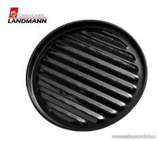 Landmann 0255 Zománcozott kerek grilltálca, 35 cm