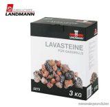 Landmann 0273 Gyors hőtárolású lávakő, mosható, 3 kg