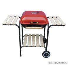 Landmann 0518 Party fedeles grillkocsi, piros színű (6 személyes)