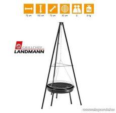 Landmann 0543 Faszenes lengőgrill (8 személyes)