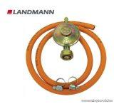 Landmann 1039 Nyomáscsökkentő szett, 30 MBar PB gázpalackhoz