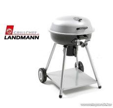 Landmann 11366 Premium  faszenes 4 lábú fedeles party gömbgrill, fix polccal (8 személyes) - készlethiány