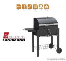 Landmann 11400 faszenes Komfort party CHEF grillkocsi (10 személyes) - készlethiány