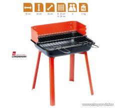 Landmann 11526 PortaGo faszenes party kompakt grill, piros (4 személyes)