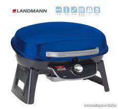 Landmann 12051 Hordozható gázgrill, kék (4 személyes) - készlethiány