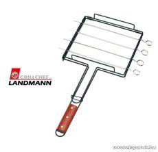 Landmann 13343 Teflon bevonatú saslikpálca / sasliknyárs forgató tartó